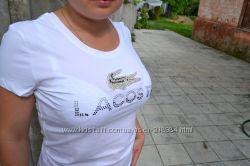 футболка  Lacoste в наличии