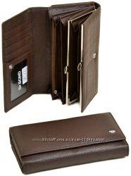 Женский кожаный кошелек Dr. Bond с визитницей Разные цвета и модели