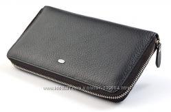 Мужской кожаный клатч кошелек на молнии dr. Bond В наличии разные модели
