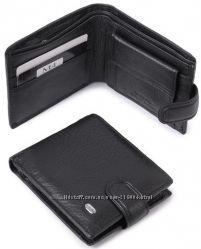 Мужской кожаный кошелек Dr. Bond Два цвета разные модели