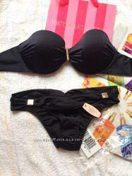 Купальник Victoria s Secret черный шиммер