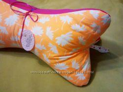 Подушка-косточка ручной работы