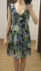 Платье летнее Esprit  Есприт р. S хлопок сост. нового сарафан