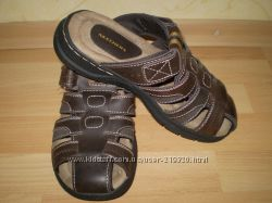 Мужские кожаные сандалии-шлепанцы SKECHERS STORCH RAMZI Америка. Оригинал