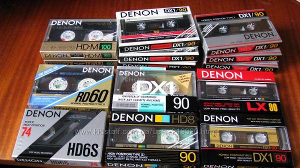 Куплю новые запечатанные и бу фирменные аудиокассеты