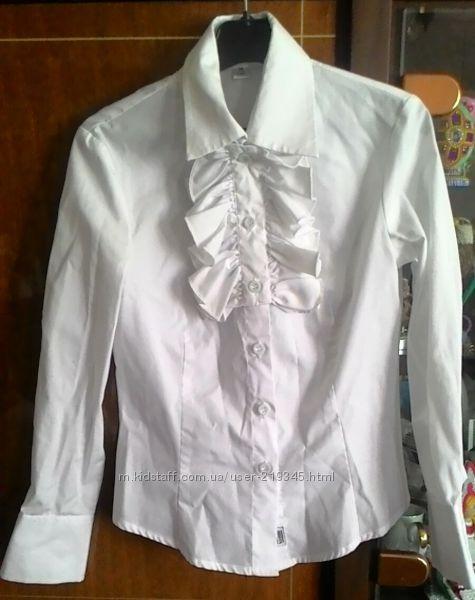 bc7f828f0d4 Блуза трансформер школьная