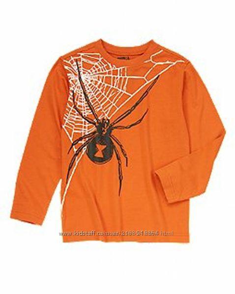 Яркие фирменные лонгсливы и футболки для мальчиков-116-152