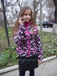 Деми-курточки Stars от TAFIKA - Lizabeta для девчонок-р. 145-158