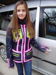 Деми-куртки TAFIKA на тинсулейте для девочек-подростков- р.153-164