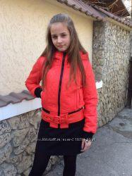 Деми-куртка   TAFIKA на тинсулейте состояние новой-р. 155-164