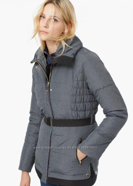 Стеганые куртки-пуховики Mango Испания-р. L наш 50 евро-зима