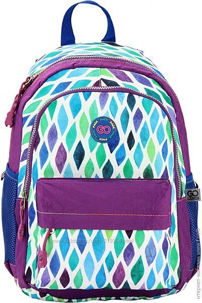 Ортопедический рюкзак для девочек GoPack-1-4класс