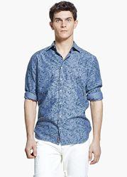 Рубашка мужская MANGO Испания-р. евро М