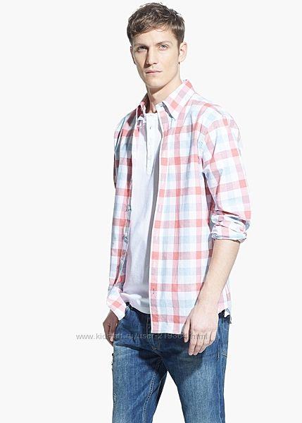 Рубашка мужская MANGO Испания-р. евро  XL