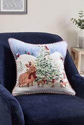 Придиванная подушка Санта-Клаус и друзья NEXT Англия