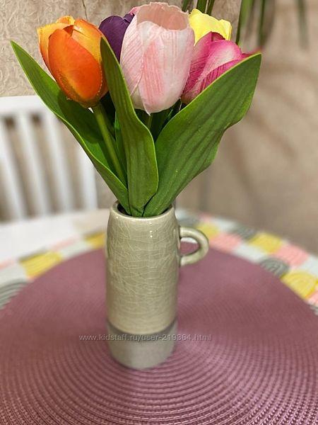 Ваза RICH LINE Home Decor с букетом цветов IKEA