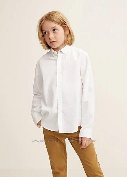 Рубашка котоновая для мальчика Mango Испания-р. 155-162