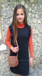 Мегастильные школьные платья, сарафаны  MANGO -р. 158-172