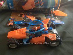 Конструктор Hot Wheels от Mega Bloks 3 в 1 гоночная машина