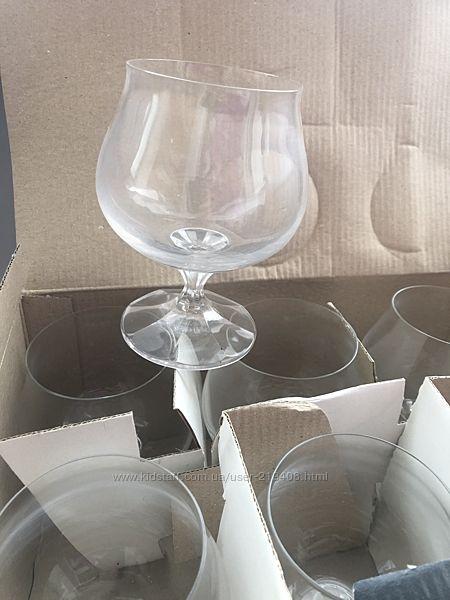 Наборы бокалов под шампанское, бренди, коньяк