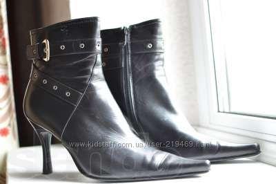 Ботинки новые женские, кожаные