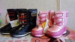 Дутики Том Микки розовые и черные
