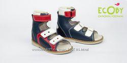Ортопедические сандалии 28, 29, 30р Экоби