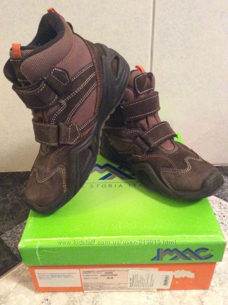 Продам утепленные ботинки на мальчика, ТМ IMAC SPA, р. 34