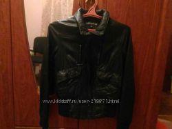 Кожаная куртка  warehouse 38р.