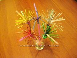 Товары для праздника зонтики, трубочки , пики для канапэ, свечи
