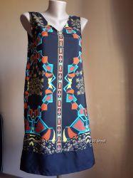 Красивое платье Принт PEACOCKS Британия