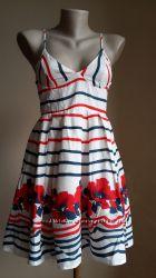Красивое  платье Хлопок Маки NEW LOOK Британия
