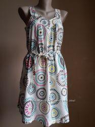 Красивое платье Карманы Хлопок Пояс TU Британия