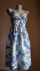 Красивое платье Принт Хлопок PAPAYA Британия
