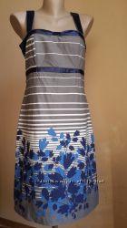 Красивое платье Принт Хлопок STEPS Британия