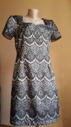 Шикарное Платье карандаш Кружево PEACOCKS Британия
