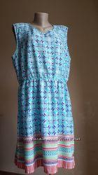 Нежное платье в Бирюза PEACKOCKS Британия