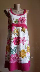 Люкс Красивое платье Лен PAPAYA Британия