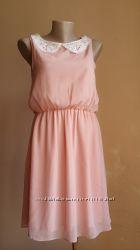 Стильное платье Кружевной воротник NEW LOOK британия