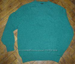 Мужской свитер Eduard Meier, 100 шотландская шерсть. Made in Scotland