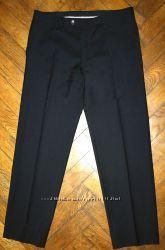 Мужские чёрные брюки из тонкой шерсти Strellson premium. Разм 48-50