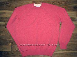 Мужской реглан свитер Gran Sasso, Made in Italy, шерсть и кашемир 48-50