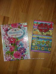 Щоденник  і блокнотик для дівчоток  7--10 років