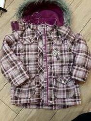 Куртка парка lupilu 2-4  на 104 см деми осень