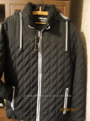 Демисезонная мужская стеганная куртка