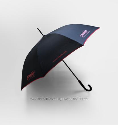 Зонт-трость Zepter Цептер из коллекции Essential чёрный