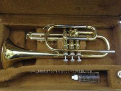 Труба Корнет Yamaha YCR-231  мундштук Vincent Bach Corp. 7C