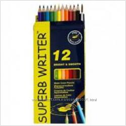 Цветные карандаши торговых марок Marco, Olli, Aihao, 1 Вересня и другие