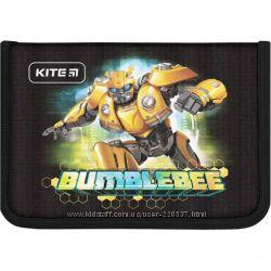 Пеналы без наполнения Kite Education Hello Kitty, Hot Wheels, Bumblebee.