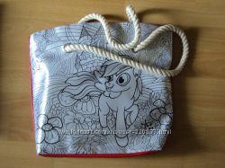Сумка-раскраска  My Color Bag с Собакой, Пони, Совами, Бабочками и Кошкой